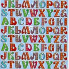 10 sheets Letters or Alphabets Sticker #TM0021