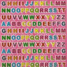 10 sheets Letters or Alphabets Sticker #E103