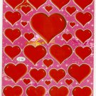 10 sheets C136 Heart Shape Love Sticker for Scrapbooking etc