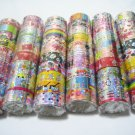 60rolls x 3m Assorted Laser Design Cute Kawaii Korean Deco Adhensive Tape