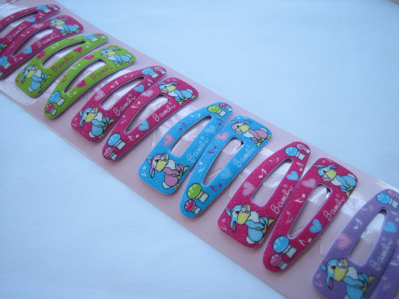 Wholesale 60pcs Mix Design Rabbit Thumber Girl Snap Hair Clip 4.5cm