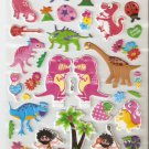 LP104 1 sheet Dinosaur Hologram effect Puffy Sticker