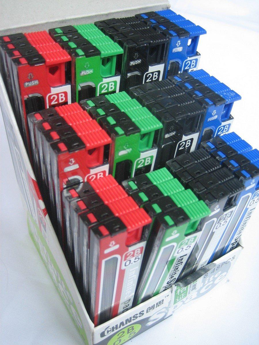 Wholesale 48 tubes 0.5mm Mechanical Pencil Refil Lead 75mm