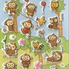 GZA1002 Monkey Land Mini Puffy Sticker FREE SHIPPING