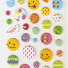 316C Smiley Mini Puffy Sticker FREE SHIPPING