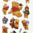 SO004 Winnie Pooh Mini Puffy Sticker FREE SHIPPING