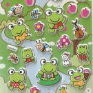 GZA1004 Froggy World Mini Puffy Sticker FREE SHIPPING