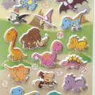 GZA1022 Dinasour World Mini Puffy Sticker FREE SHIPPING