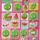GZA1007 Watermelon Mini Puffy Sticker FREE SHIPPING