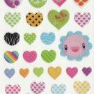 DON1012 Assorted Heart Mini Epoxy Sticker FREE SHIPPING