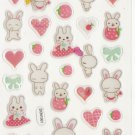 DON1001 Rabbits Love Mini Epoxy Sticker FREE SHIPPING