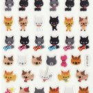 KDT1017 Animal Cats Mini Epoxy Sticker FREE SHIPPING