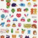 KDT1016 Happy Together Mini Epoxy Sticker FREE SHIPPING