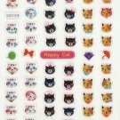 KDT1018 Animal Cats Mini Epoxy Sticker FREE SHIPPING