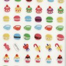 KDT1021 Cupcakes Macaroons Mini Epoxy Sticker FREE SHIPPING