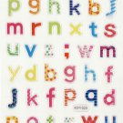 KDT1023 Lower case A-Z Mini Epoxy Sticker FREE SHIPPING