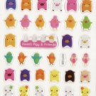 KDT1028 Sweet Piggy Mini Epoxy Sticker FREE SHIPPING