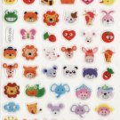 KDT1029 Animal Head Mini Epoxy Sticker FREE SHIPPING
