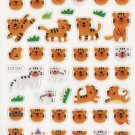 KDT1037 Animal Tigers Mini Epoxy Sticker FREE SHIPPING