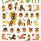 KDT1046 Animal Horses Mini Epoxy Sticker FREE SHIPPING