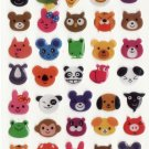 WY003 Animal Head Mini Epoxy Sticker FREE SHIPPING