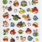 HAP1017 Angry Bird Mini Puffy Sticker FREE SHIPPING