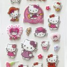 CHA1013 Hello Kitty Mini Puffy Sticker FREE SHIPPING