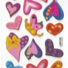 SO 047 Assorted Heart Mini Sticker FREE SHIPPING