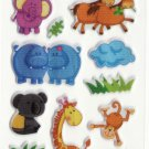 SO 054 Animals Cars Mini Sticker FREE SHIPPING