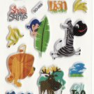 SO 055 Madagascar Animals Cars Mini Sticker FREE SHIPPING