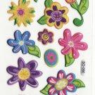 SO 056 Flowers Cars Mini Sticker FREE SHIPPING
