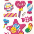 SO 060 Candy Cute Mini Sticker FREE SHIPPING