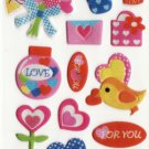 SO 063 Bouquet & Mail Mini Sticker FREE SHIPPING