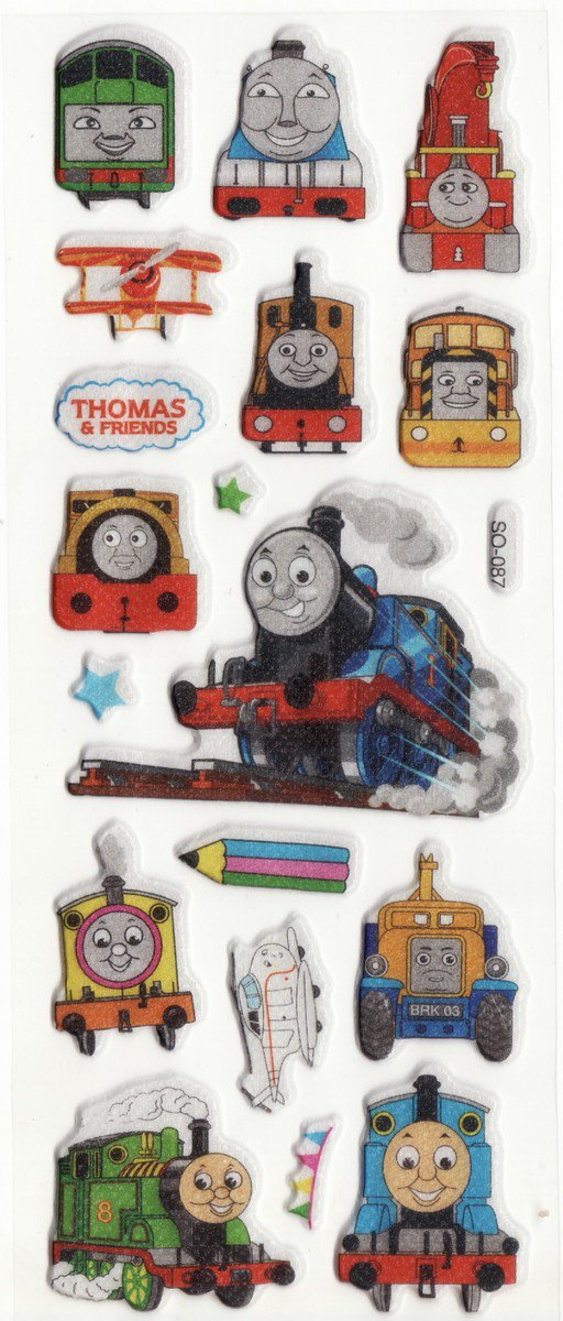 SO 087 Thomas & Friends Mini Puffy FREE SHIPPING