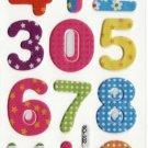 SO 102 Number & Symbols Mini Puffy FREE SHIPPING