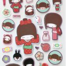TMP1006 Japaneses Komino Girl Mini Bronzing Sticker FREE SHIPPING