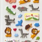OK024c Happy Party Mini Puffy Sticker FREE SHIPPING