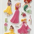 OK035f Princess Mini Puffy Sticker FREE SHIPPING
