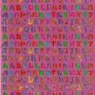 D135 Letter Alphabet Removable A4 Sticker