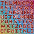 E101 Letter Alphabet Removable A4 Sticker