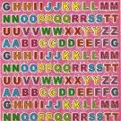 E103 Letter Alphabet Removable A4 Sticker