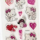 1 pack Cute Kawaii Charmy Kitty Small Epoxy Sticker SUN087c FREE SHIPPING