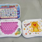 Mini Kid Bilingual English and Mandarin Laptop Educational Toy (Tiger Pink)
