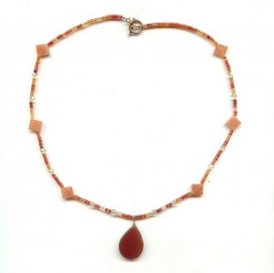 Honey Agate Necklace