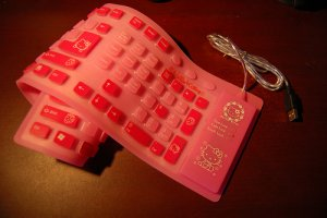 Hello Kitty Roll-Up Keyboard
