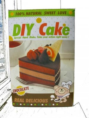 DIY Plush Cake Mix