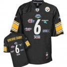 PITTSBURGH STEELER SUPERBOWL CHAMPS JERSEY #6