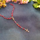 Ruby red rosary