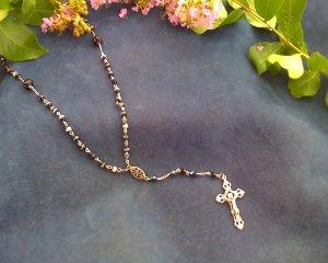 Black ice Rosary
