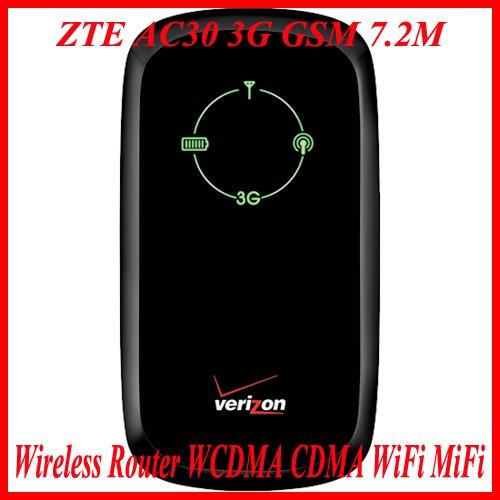 New ZTE AC30 3G GSM 7.2M Wireless Router WCDMA CDMA WiFi MiFi
